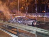 Tragedia! Ośmiu nastolatków w BMW. Jeden spłonął w bagażniku!