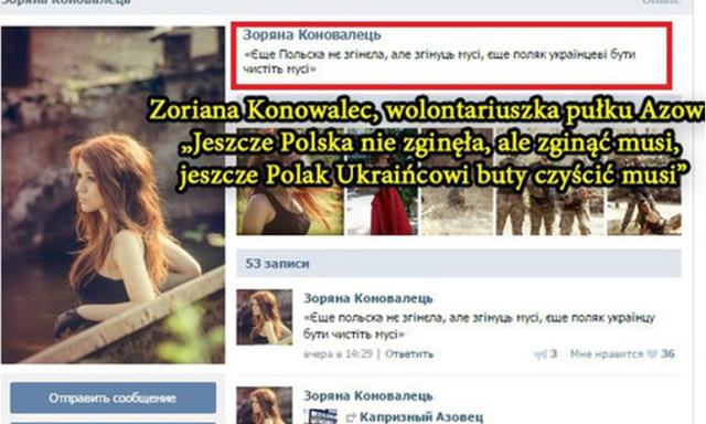 """""""Polska zginąć musi, a Polak Ukraińcowi buty czyścić"""""""