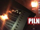 Co z Polakami?! Płonie słynny hotel w stolicy, 6 pięter zamieniło się w piekło