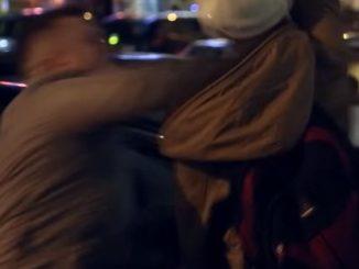 Brytyjski dziennikarz nokautuje imigranta w samym środku strefy no-go! [WIDEO!]