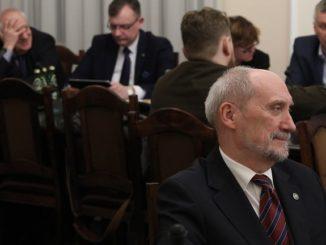 Ustawa degradacyjna w Sejmie