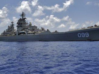 Świat na krawędzi WOJNY. Rosyjskie okręty opuszczają bazę w Syrii