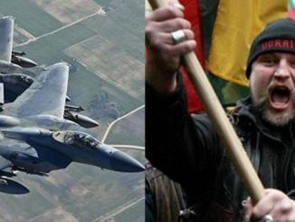 My uważamy, że spełniamy szlachetną misję, broniąc litewskiego nieba. Oni uważają, że jest to nasz obowiązek