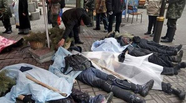 Ukraina: strzelec z Majdanu zatrzymany pod zarzutem zastrzelenia berkutowców