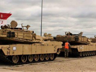 Niemcy niezadowoleni z przejazdu wojsk USA na wschodnią flankę NATO