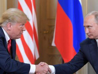Ukraińskie media: Trump ani razu nie wspomniał o Ukrainie podczas konferencji z Putinem