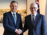 Wizyta prezydenta Dudy w Australii. Historyczna, ale niezauważona