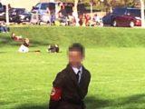 SZOK! Nauczycielka przebrała synka za Hitlera na Halloween