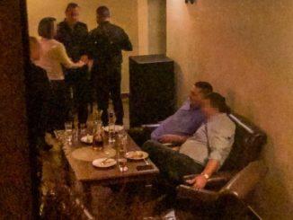 Szychy z policji w luksusach, bo nie można pić na komendzie