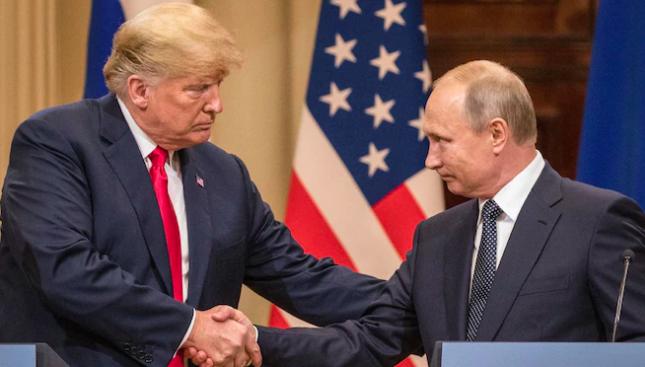 Fort Trump vs Fort Putin