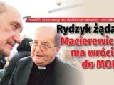 Ojciec Tadeusz Rydzyk żąda: Macierewicz ma wrócić do MON