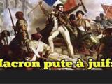«Macron, jesteś żydowską marionetką!»
