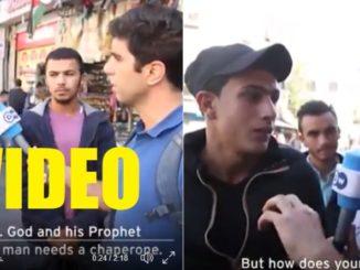 Niemiecki dziennikarz opublikował ten film z muzułmanami