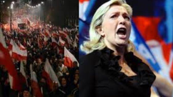 Le Pen zwróciła się do Polaków