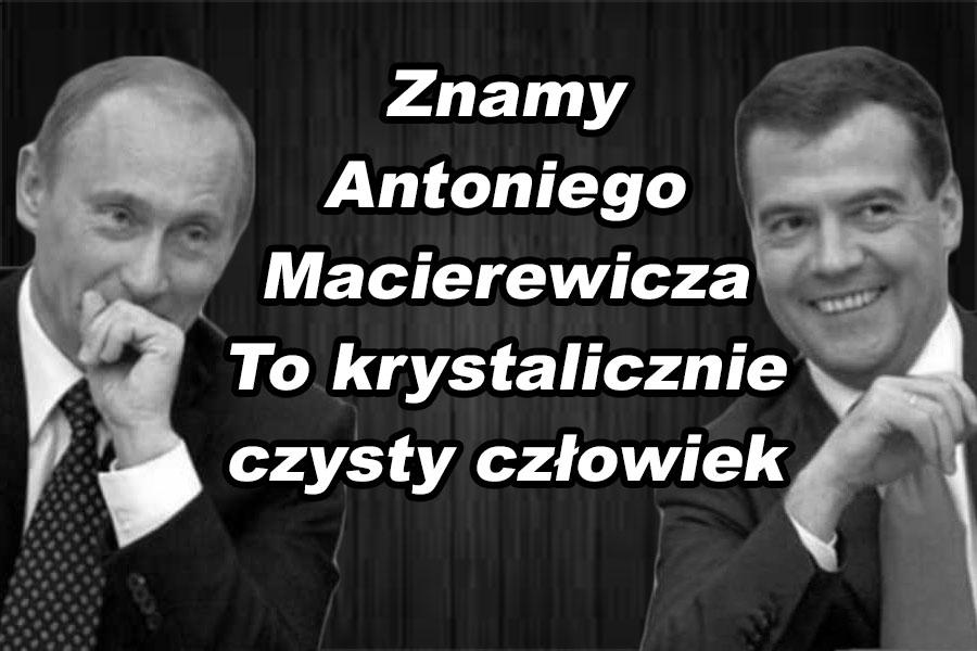 Błaszczak kontra Macierewicz