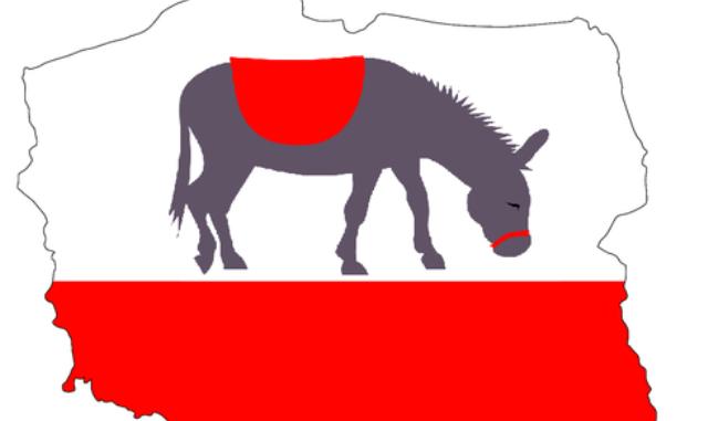 Polska, jak ujeżdżany przez wszystkich osioł