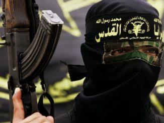 Ranny bojownik ISIS