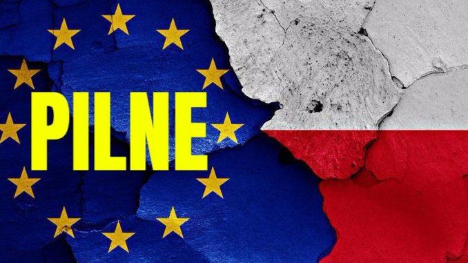 Polska wypowiada posłuszeństwo Unii