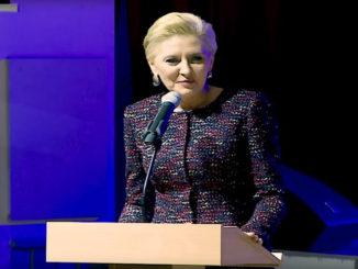 Prezydencki minister OBRAZIŁ Agatę Dudę