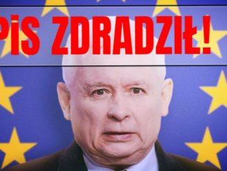 PiS zdradził Polaków