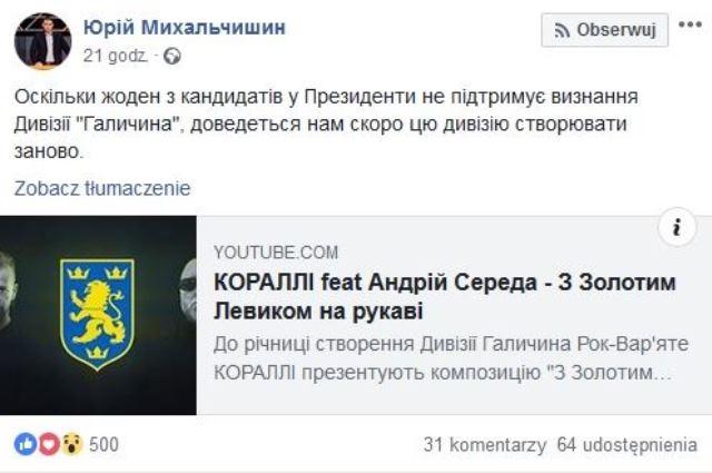 Ukraińcy dywizję SS