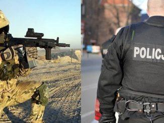 Żołnierz i policjant przeciwko własnej matce