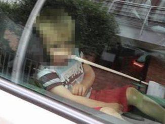 ukraść auto w którym spało dziecko