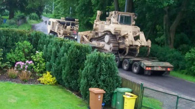 US Army Trzebień