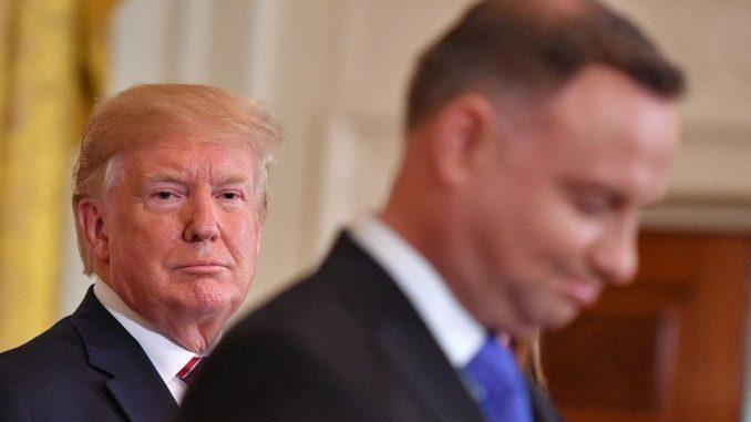 interwencji Trumpa w Polsce