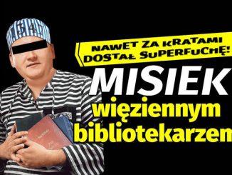 Misiek bibliotekarzem