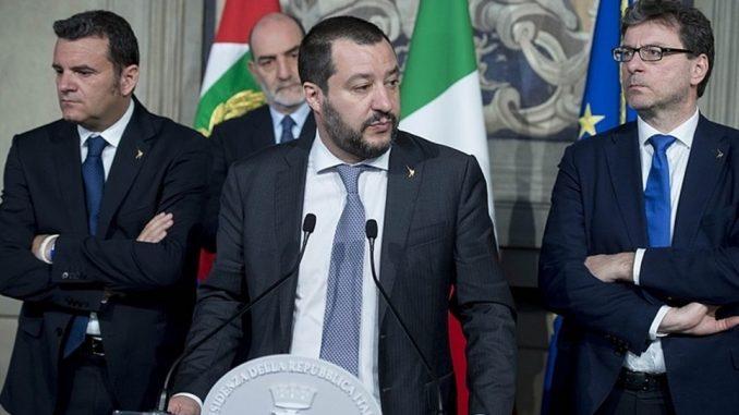 Ukraińcy terroryści Salvini