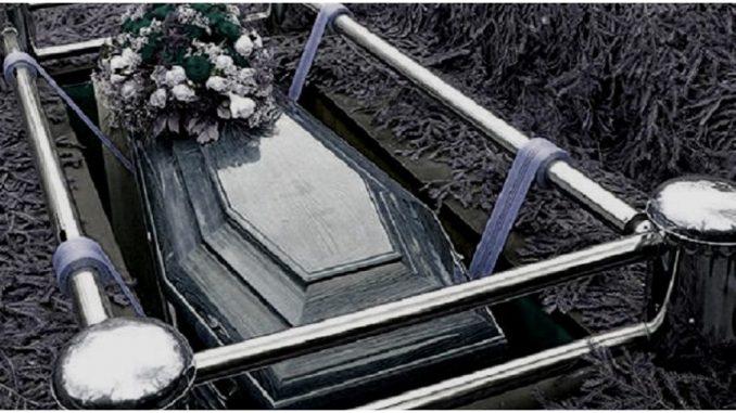 pogrzeb ojca Dawidka