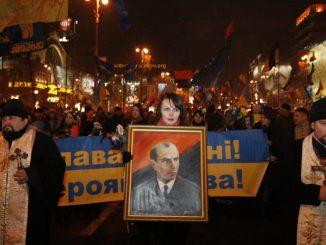 upomniał Ukraińca chwalącego Banderę