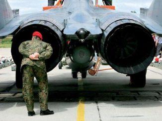 Wydatki Polski na obronę