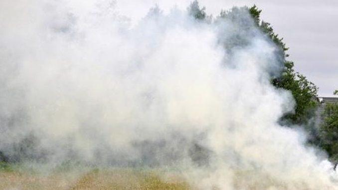 Dymy z poligonu trują mieszkańców