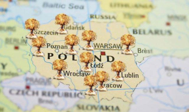Polska poligonem jądrowym USA