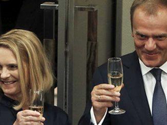Donald Tusk alkohol
