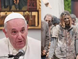 Papież porównał ludzi do zombie