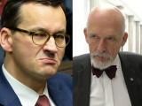 Korwin-Mikke OSTRO: Morawiecki zrujnuje Polskę