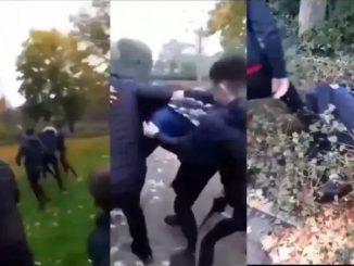 Gang islamskich rasistów w Holandii