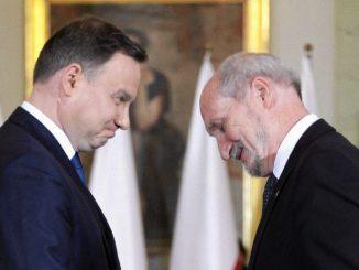 Macierewicz Duda