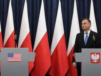 Dyplomatyczna gafa Dudy