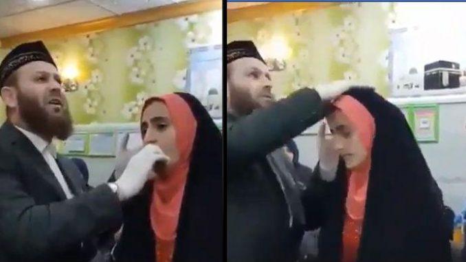 nagranie z muzułmańskiego ślubu