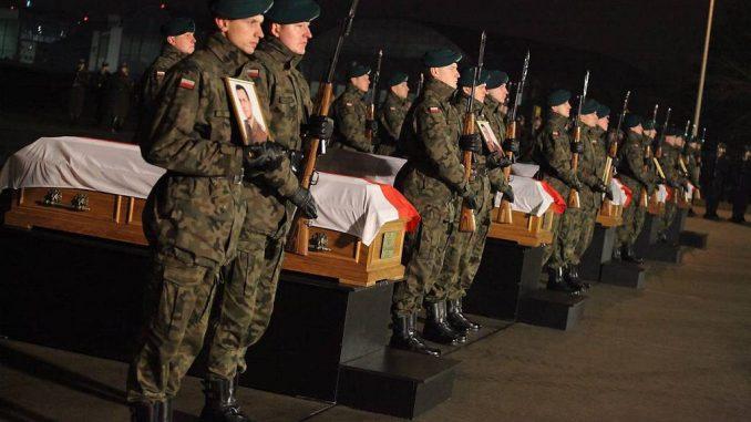 zginęło polskich żołnierzy