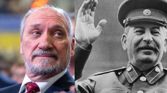 Macierewicz Stalin