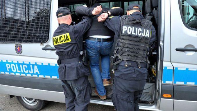 POKAŻ RYJ do policjantów