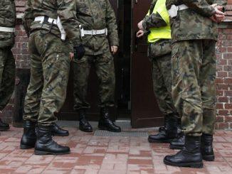 Aresztowany oficer SKW