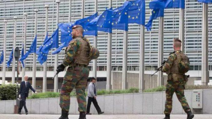 Belgia Wojskowe patrole