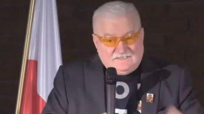 Wałęsa O Polakach w USA