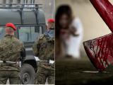Z życia wojska! Żołnierz, który zaatakował żonę siekierą jest niepoczytalny
